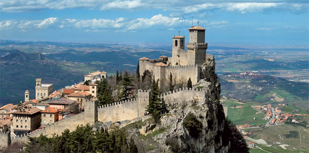 San Marino San Marino  city photos gallery : San Marino Route | Bike Holiday ENG