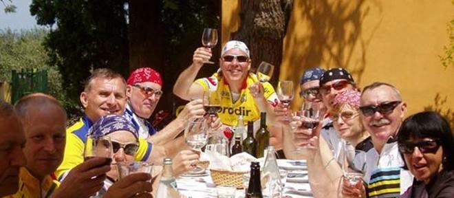 Stage cyclotourisme Italie