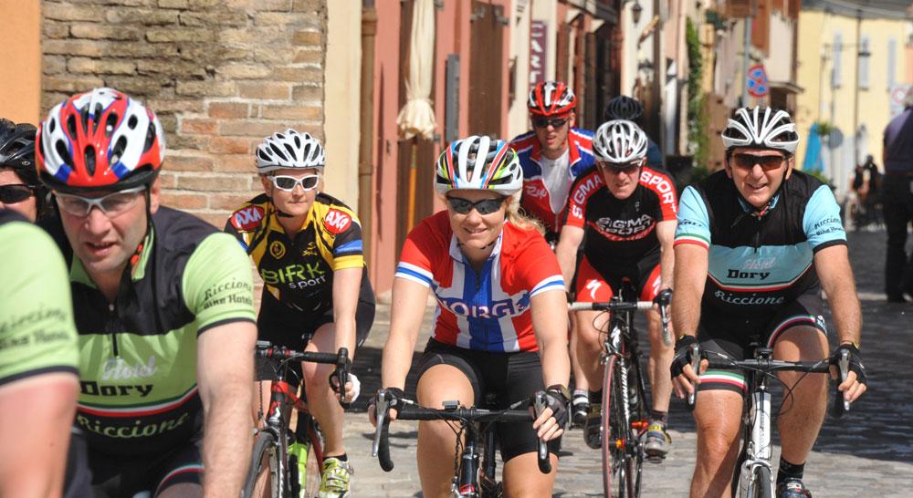 Percorso per ciclisti Urbino